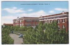 Hardin Simmons University Abilene Texas 40s postcard