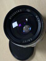 Mir 1 37mm f2.8 for Zenit SLR M42 Lens - Grand Prix Brussels