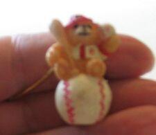 Teddy Bear-Baseball Pendant