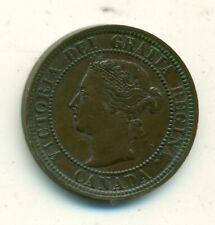 Canada 1 cent 1888 AU/Unc