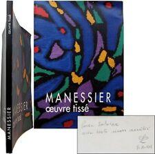 Alfred Manessier 1993 oeuvre tissé tapisseries envoi Plasse le Caisne Leymarie