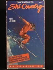 Warren Millers Ski Country VHS 1985