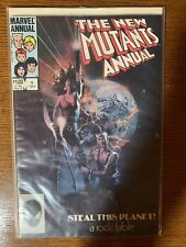 New Mutants Annual #1 (1984 Marvel) [1st Appearance Lila Cheney]