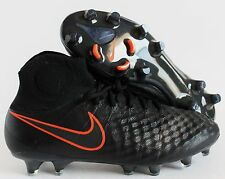 Nike Magista Obra Ii Fg Black-Black-Total Crimson Sz 7.5 [844595-008]