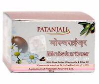 Patanjali Moisturizer Cream w/ Shea Butter, Chamomile & Olive Oil  50 gm fs