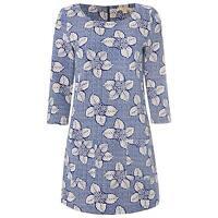 White Stuff Potters Wheel Jersey Tunic Dress Size 8-18
