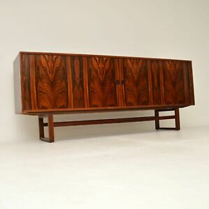 DANISH ROSEWOOD RETRO SIDEBOARD BY AXEL CHRISTENSEN VINTAGE 1960's