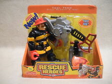 Rescue Heroes Tool Tech Billy Blazes & Axe Factory Sealed!