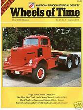 International Truck IHC photographs, Mack Trucks in France - ATHS Wheels of Time