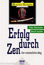 """Stemmann / Joschke - """" Erfolg durch ZEN - Der meisterliche Weg """" (1997) - tb"""