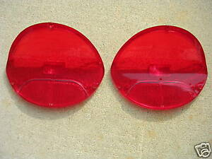 1957 Oldsmobile 88 tail light lenses new