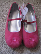 Bright pink shoes size 10 girls