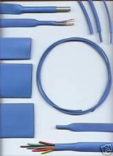 6.4mm BLUE HEATSHRINK TUBING HEAT SHRINK per metre