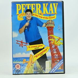 Peter Kay Live at the Top of the Tower Comedy Stand Up DVD R2 GC