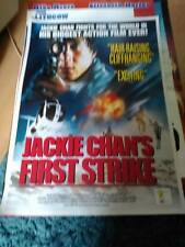 First Strike (jackie chan) Movie Poster A2