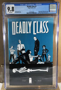 Image Deadly Class Comic #1 CGC 9.8 2010 Rick Remender Syfy Show WP