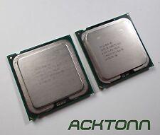2X Intel 6320 1.86 GHz Core 2 Duo CPU Processors Socket PLGA775 ACKTONN