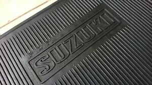 SUZUKI FLOOR MATE RUBBER FITS LJ10 LJ20 LJ50 FRONTE CARRY JIMNY ELJOT SCURRY 2X