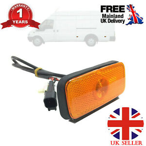 SIDE MARKER LIGHT LAMP WITH WIRING LOOM FITS FORD TRANSIT MK6 MK7 VYC155034AC UK
