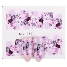 1x Sheet Water Transfer Women Sticker Nail Art Decals