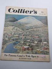 Collier's Magazine- The panama Canal is Wide Open to Attack- January 20, 1951