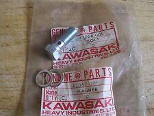 KAWASAKI NOS BRAKE HOSE BOLT & WASHERS Z1 H2 H1 Z900 KH S3 43066-001 & 43067-001