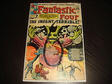 FANTASTIC FOUR #24  Silver Age  Marvel Comics 1964 GD+/VG-