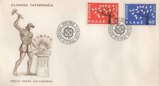 CYPRUS EUROPA CEPT 1962 FIRST DAY COVER FDC