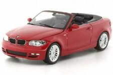 BMW 1-SERIES CABRIOLET 2007 RED 431026230 Minichamps 1:43 New in box! RARE!