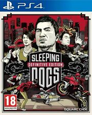 Sleeping Dogs - Definitive Edition PS4 - New and Sealed
