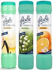 3x Glade Shake n' Vac Carpet Fragrance Powder 500g - Citus, Lilly & Magnolia