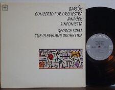 GEORGE SZELL-CLEVELAND ORCH Bartok/Janacek RARE EXC 1962 COLUMBIA 360 SOUND LP