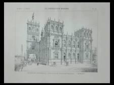 EXPOSITION UNIVERSELLE 1900, PAVILLON ESPAGNE - PLANCHE 1900 - URIOSTE Y VELADA