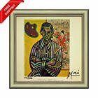 Joan+Miro+-++Portrait+of+E.+C.+Ricart%2C+Original+Hand+Signed+Print+with+COA