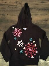 Jumping Beans Sweatshirt with snowflakes size 6