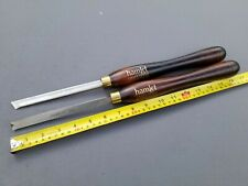 """Hamlet Craft Tools by Henry Taylor 2 Piece Wood Turning Chisel 1/2"""""""