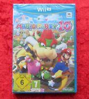 Mario Party 10 Wii U, Nintendo WiiU Spiel, Neu, deutsche Version