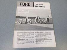Ford 750-753-755 Backhoes Brochure                       lw