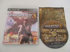 UNCHARTED 3 L'ILLUSION DE DRAKE - SONY PLAYSTATION 3 - JEU PS3 COMPLET