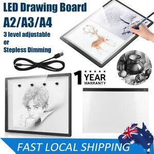 A2/A3/A4 LED Light Box Tracing Board Art Design Stencil Drawing Pad Copy Pattern