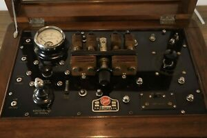 Antique 1920's Electroshock Electroconvulsive Therapy Display Piece H.G Fischer