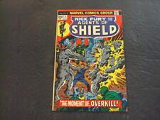 Nick Fury And His Agents Of Shield #3 Jun '73 Bronze Age Marvel Comics ID:53530