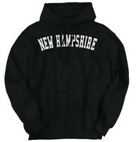 New Hampshire Athletic Vacation State NH Gift Hoodies Sweat Shirts Sweatshirts