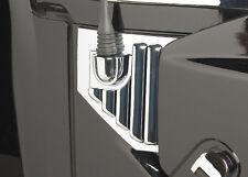 New PUTCO Chrome Trim Hood Side Vents w/Antenna Mount / FITS 2003-2009 HUMMER H2
