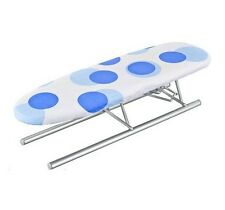 JEANETTE TABLETOP MESH TOP  STURDY 12 x 41cm FOLDING TRAVEL IRONING BOARD