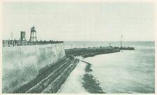 G0175 Hollande - Flessingue - L'entrée du port - Stampa d'epoca - 1923 Old print