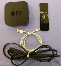 Apple TV 4K A1842 32GB HD Media Streamer - Black (MQD22LL/A) with Remote