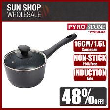 100% Genuine! PYROSTONE by PYROLUX 16cm 1.5L Non-stick Saucepan! RRP $85.95!