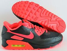 NIKE MEN AIR MAX 90 HYP HYPERFUSE ID BLACK-RED  SZ 8  [653603-993]