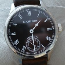 Archimede Deckwatch Marineuhr mit Eta 6498 Handaufzug - Made in Germany